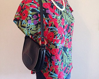 SALE! Vintage 1990s Hawaiian Tropical Top or Blouse NWT