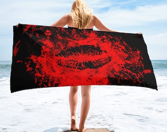 Kiss of Death Towel