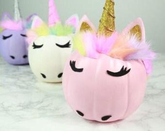 Unicorn Pumpkins