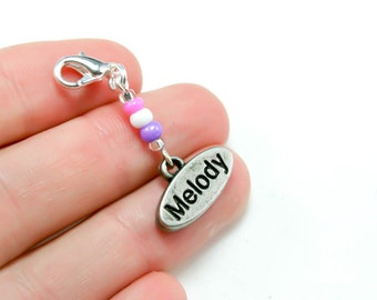 Sale Clearance Jewelry -Music Charm. Melody Clip Charm. Music Teachers Gift. BSC008