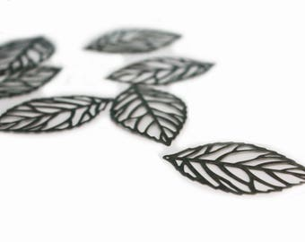 Bronze leaf prints