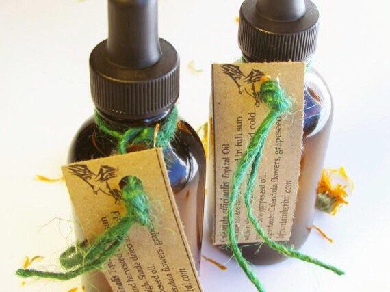 Calendula Oil - Calendula In Grapeseed Oil