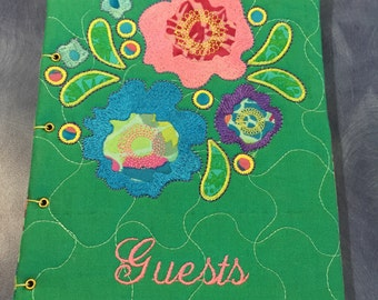 Handmade Guests Book, One of a Kind