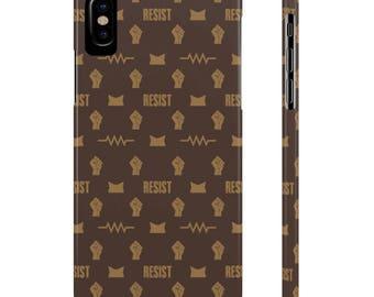 RESIST Phone Case - LV Style Slim Case