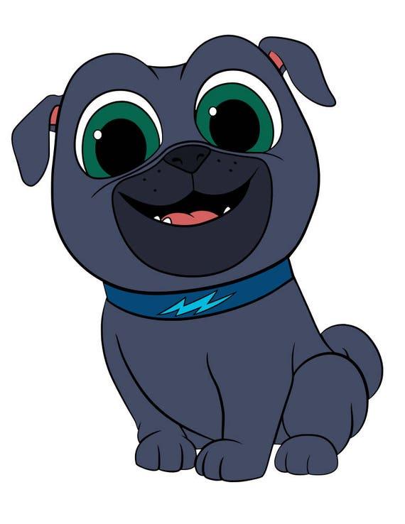 Puppy Dog Pals Vector