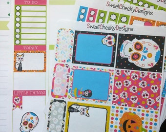 Sugar Skull Weekly Planner Kit!  Available for Erin Condren Life Planner or MAMBI/Happy Planner