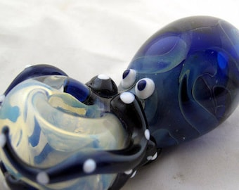 Octopus Glass Tobacco Pipe - H*026