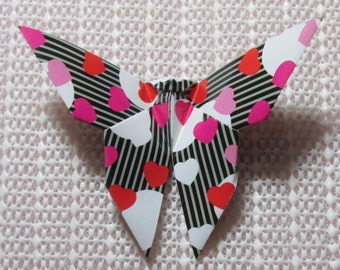 100 Paper Origami Butterflies_Black Pattern, 4  x 4 inches (10 x 10 cm) only for  8.00 USD