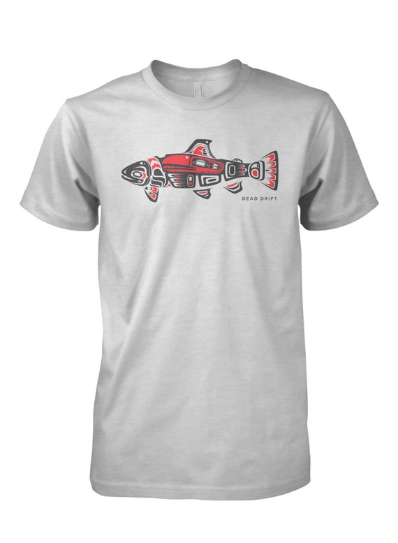 Colorado Flag State Trout Long Sleeve Fly Fishing Tee, Fishing Shirt,T-Shirt,Fishing Art,Fish,Fishing T-Shirt