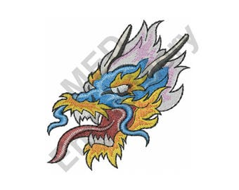 Chinese Dragon - Machine Embroidery Design, Dragon