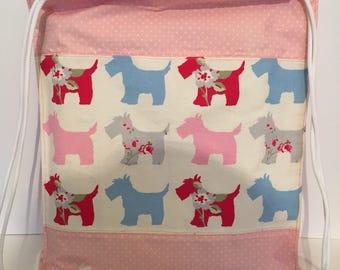 Scottie dog backpack