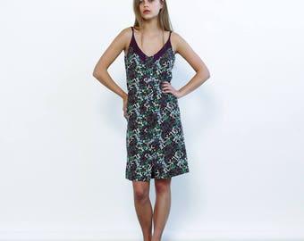 Strappy Summer Floral Print Mini Dress, Multicolour- Holidays Sale 70% off