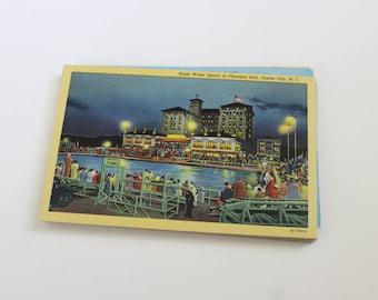 50 Vintage New Jersey Unused Postcards Blank - Unique Travel Wedding Guest Book, Reception Decor, Travel Journal Supplies
