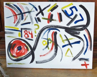 Chaos Original Abstract oil painting