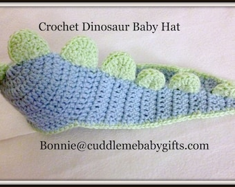 Baby Dinosaur Baby Crochet Hat Photo Prop Baby Boy Baby Shower Gift Baby Shower Decor Baby Girl Crochet Dino Hat Dinosaur Baby