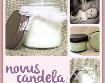 mother's love candle, Mother's day gifts for women, soy candles handmade,  gift for her, mason jar candles, gifts for girls  for mom