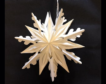 Lacy Paper Star