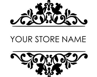 Business Name Decal Custom Business Decal Vinyl Lettering Wall Decal Business Decal for Storefront