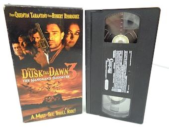 From Dusk Till Dawn 3 The Hangman's Daughter VHS Tape
