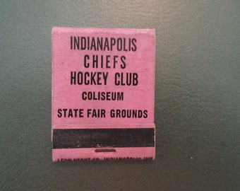 Matchbook, Hockey, Indianapolis, Tobacco