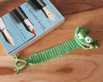 Frog Bookmark, Book Lover Gift, Unique Bookmarks, Valentine Gift for Women, Bookworm for Her, Christmas Gifts for Teachers, English