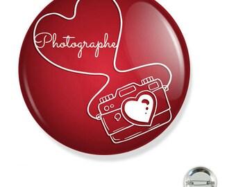 The wedding photographer 38MM badge