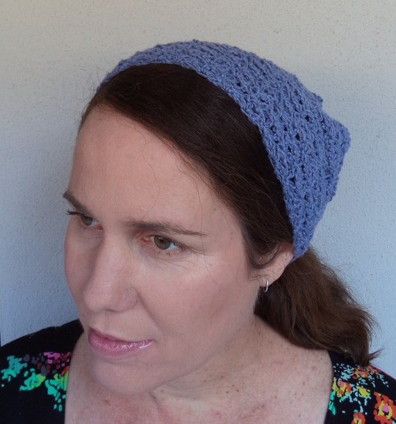 Crochet Patterns Crochet Bandana Headscarf Pattern And Long