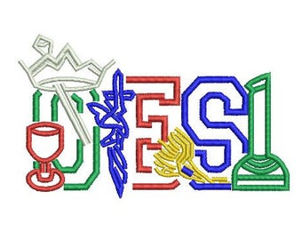 OES embroidery design