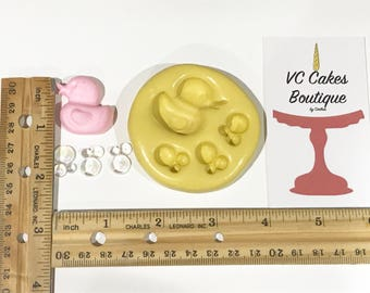 Rubber Ducky & Bubbles Mold