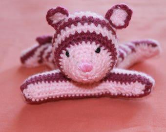 Kitten crochet blanket