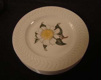Theodore Haviland New York Camellia Salad Plate Set of 8