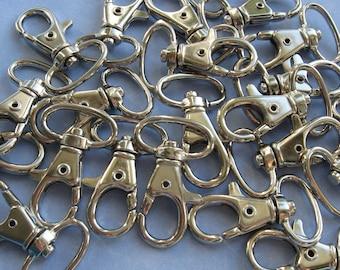 "Snap Hooks 3/4"" Metal For Handbag Supplies"