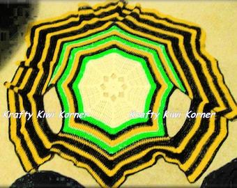 Crochet Hexagon Shape Shrug - Made to Order