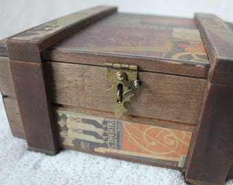 Treasure Box with travel theme