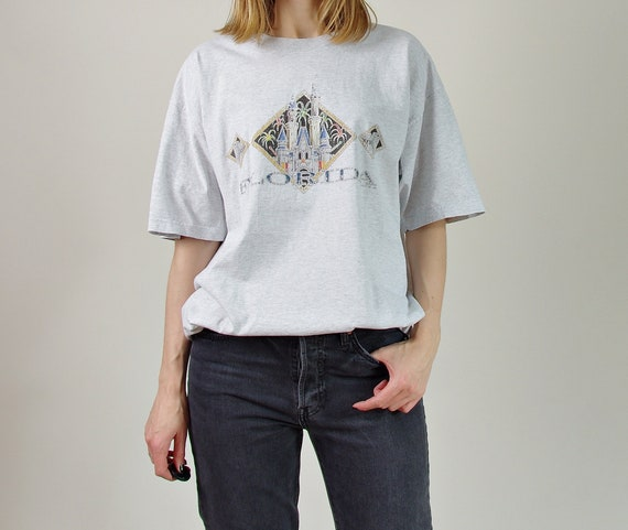 1998 Florida gray oversized unisex t-shirt