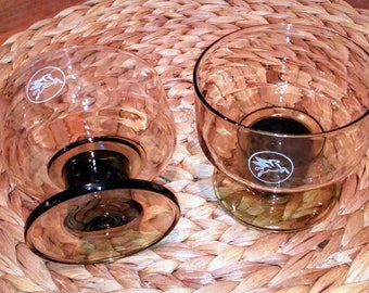Glass bowl or ice mobil Vintage (70's)