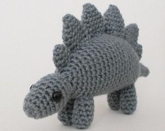 PDF Stegosaurus - amigurumi dinosaur CROCHET PATTERN