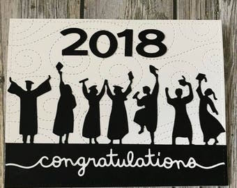 Handmade graduation card-Handmade College graduation card-Handmade High School graduation card-Handmade congrats grad card
