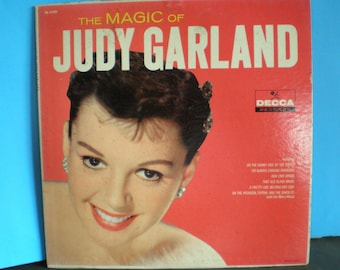Vintage 1950's Decca Record - The Magic Of Judy Garland Album