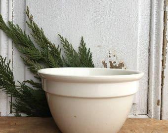 Ironstone Pudding bowl