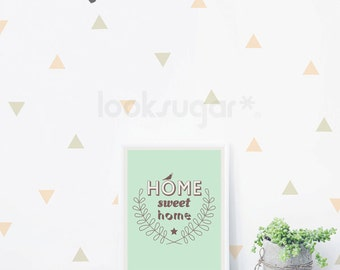 Triangle Wall Decals - Best Value  - AP0039NF