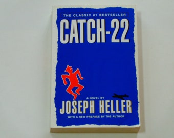 Catch 22 - Joseph Heller - War Satire - WWII - Yossarian the Bombardier - American Novel - Scribner Paperback 1996 - Softcover Fiction Book
