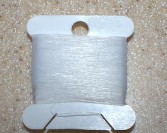 20 yds CLEAR Gore® Tenara® HTR 92 Jewelry Thread Bracelet Floss Marine Sails Outdoor Upholstery