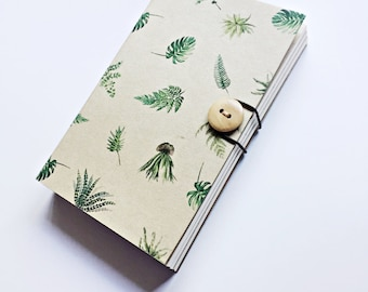 Botanical Notebook, Sketchbook, A5 A6 notebook