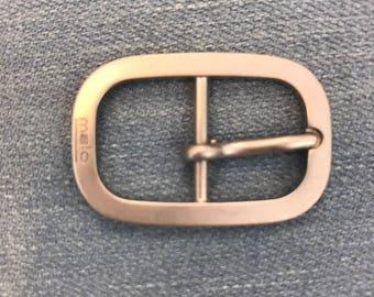 Metal buckle. Designer buckle. Buckle for belt.