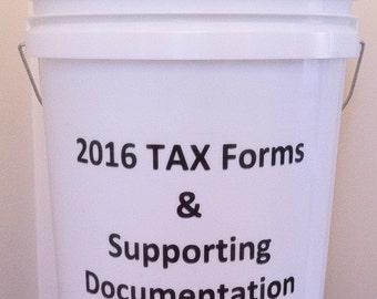 Tax Organizer - 2016