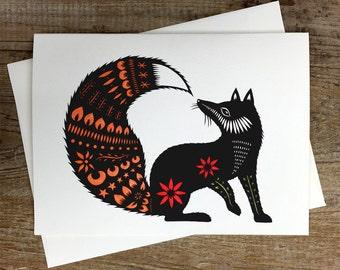 Fox Tale - Greeting Card