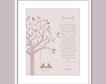 Friend Print - Special Gift For Best Friend - Unique Friend Gift - Best Friends Gift Idea - Friend Christmas Gift - Best Friend Birthdy Gift