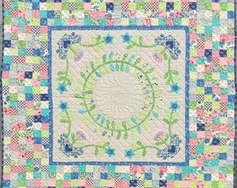 Mosaic Bloom Quilt Pattern