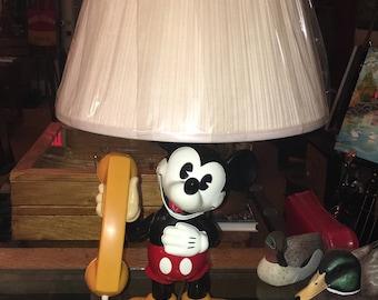 Vintage Walt Disney Company Mickey Mouse phone